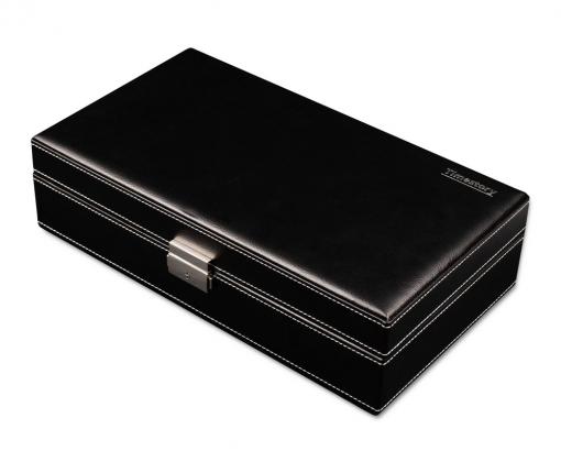 Шкатулка для хранения 10-ти часов Leather 010BK